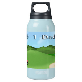 Golfing Father's Day 10 Oz Insulated SIGG Thermos Water Bottle