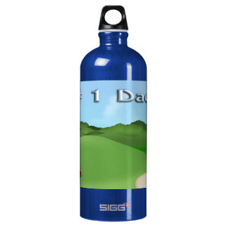 Golfing Father's Day SIGG Traveler 1.0L Water Bottle