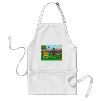 Golfing Frogs - Tournament Adult Apron