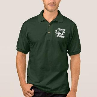 Golfing Geek Polo T-shirts
