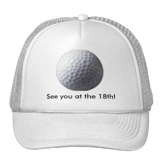 GOLFING Gift Collection Trucker Hat