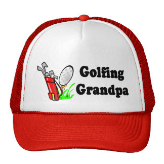 Golfing Grandpa T-shirts and Gifts. Mesh Hat