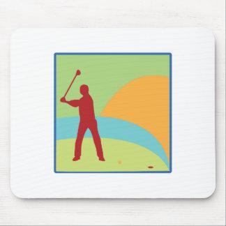 Golfing Green Mousepads