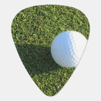 Golfing Guitar Pick