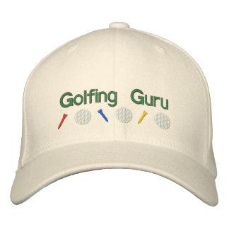 Golfing Guru Embroidered Baseball Cap