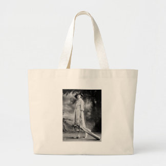 Golfing in Style, 1920s Jumbo Tote Bag