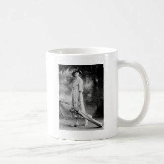 Golfing in Style, 1920s Classic White Coffee Mug