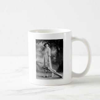 Golfing in Style, 1920s Classic White Coffee Mug