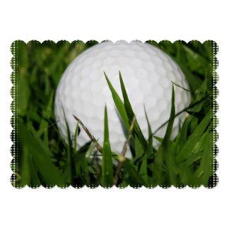 Golfing Custom Invitations