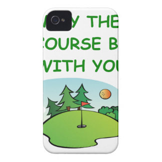 golfing iPhone 4 cover