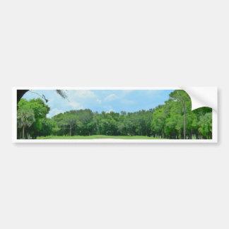 Golfing Is Great Car Bumper Sticker