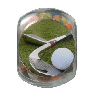 Golfing Jelly Belly Candy Jars