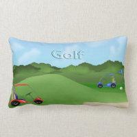 Golfing Lumbar Pillow