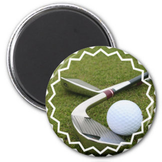 Golfing Magnet