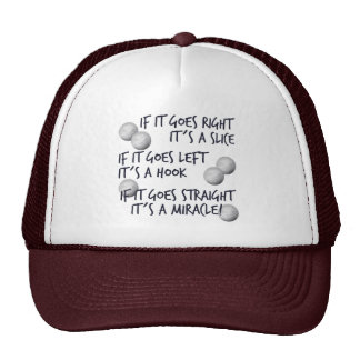 Golfing  Miracle Trucker Hat