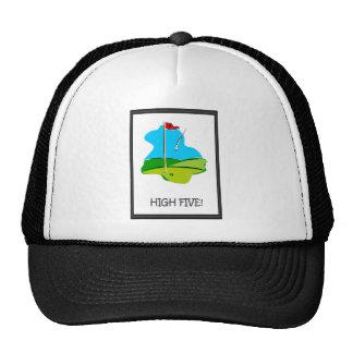 Golfing moments trucker hat