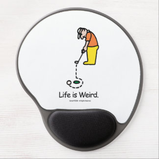 Golfing mouse pad gel mouse pad