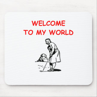 golfing mouse pads