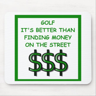 golfing mousepads