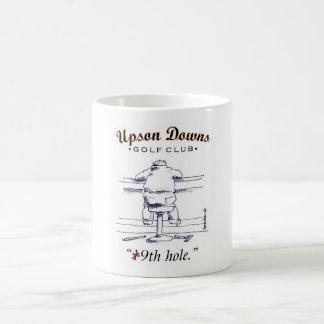 Golfing mug for hot and cold beverages