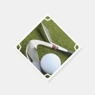 Golfing Napkin