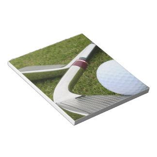 Golfing  Notepad