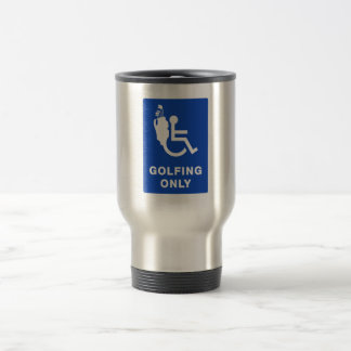Golfing Only Mug