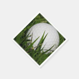 Golfing Paper Napkin