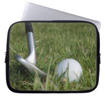 Golfing Photo Electronics Bag