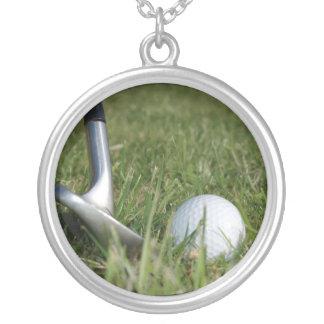 Golfing Photo Necklace