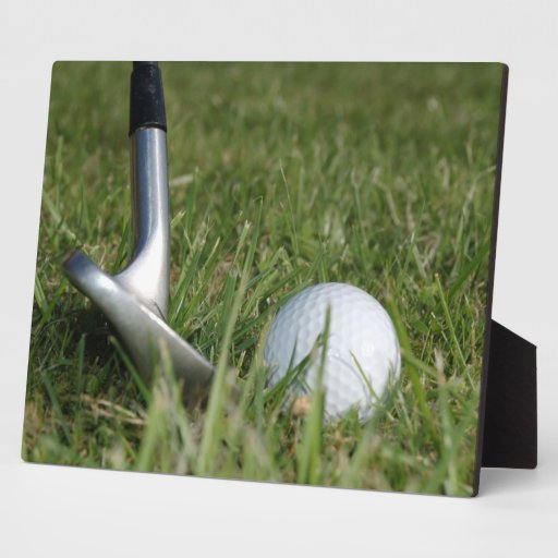 Golfing Photo Plaque