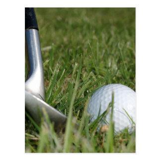 Golfing Photo Postcard
