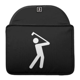 Golfing Pictogram MacBook Pro Sleeve