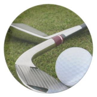 Golfing  Plate