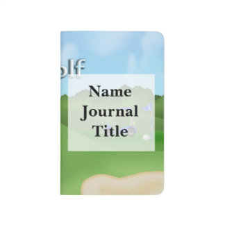 Golfing Pocket Journal