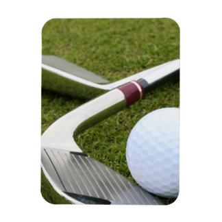Golfing  Premium Magnet