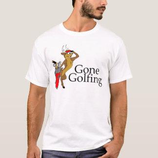 Golfing Reindeer T-Shirt