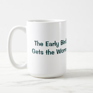 Golfing Rooster Early Bird Mug
