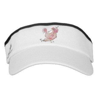 Golfing Rooster Visor