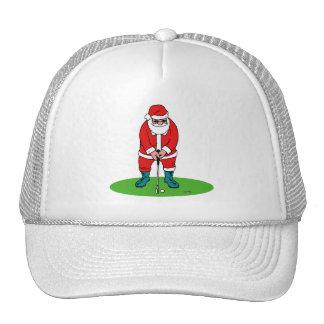 Golfing Santa Hats
