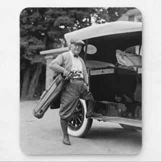 Golfing Senator, 1920s Mouse Pad