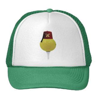 Golfing Shriner Mesh Hats