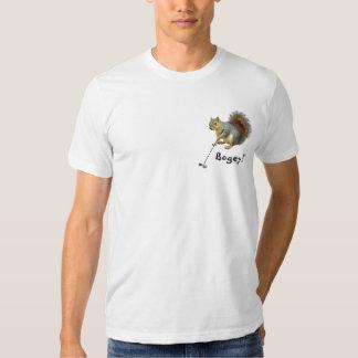 Golfing Squirrel T-shirt