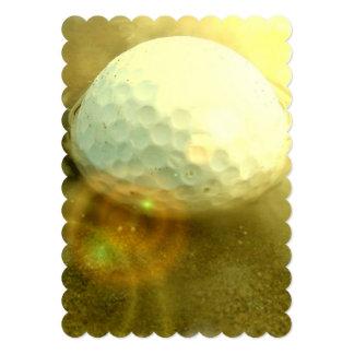golfing-stuck-in-mud 5x7 paper invitation card