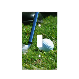 Golfing Switch Plate Cover