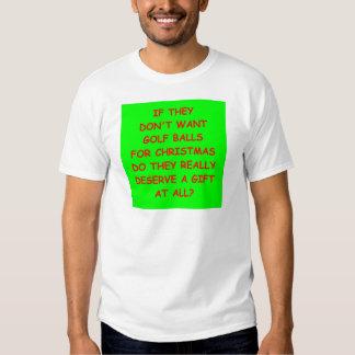 golfing t shirt