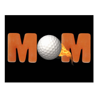 Golfing T-shirts and Gifts For Mom Postcards