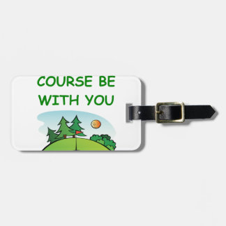 golfing tag for luggage