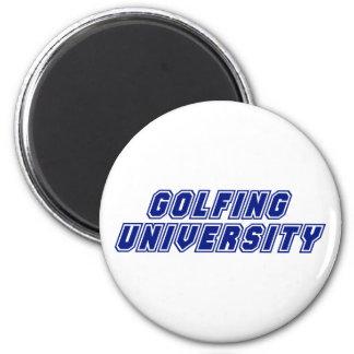 Golfing University Magnet