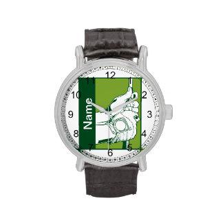 Golfista de encargo reloj